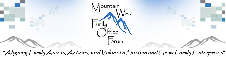 2015 Mountain West Family Office Forum