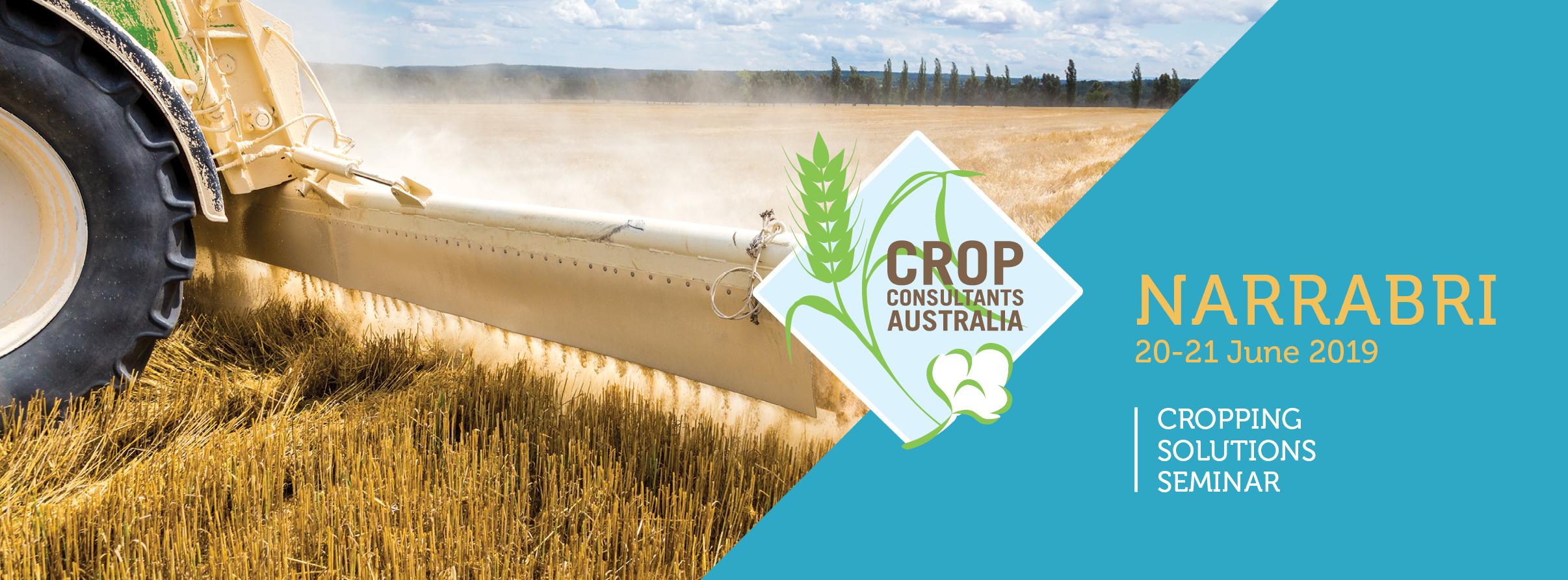 CCA Cropping Solutions Seminar