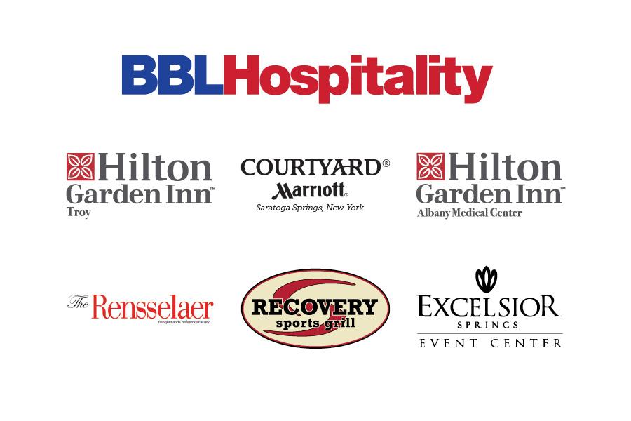 BBL Hospitality Logo Collage