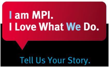 I Am MPI Logo