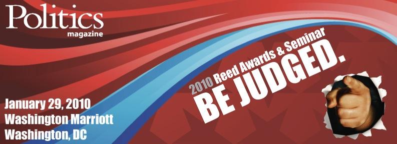 Politics magazine Reed Awards & Seminar sponsored by Aristotle
