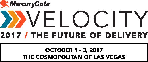 Velocity 2017 MercuryGate User Conference