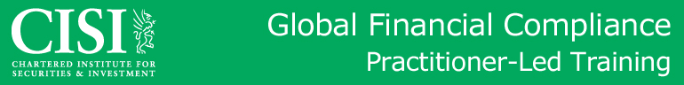 Global Financial Compliance: London Dates
