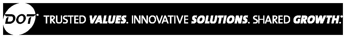 2019 DOT Innovations Footer Slogan