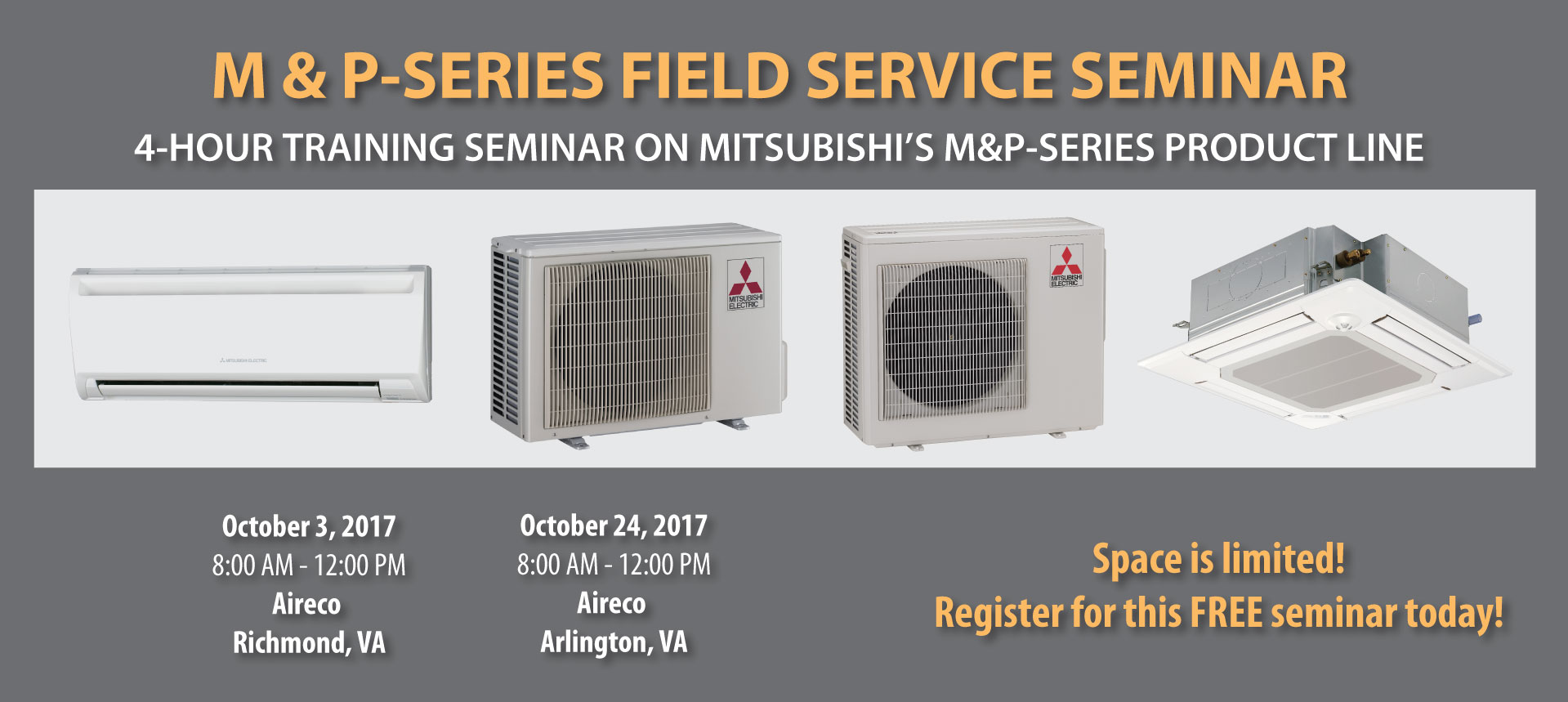 4-hour M&P-Series Field Service Seminar (October 24, 2017)