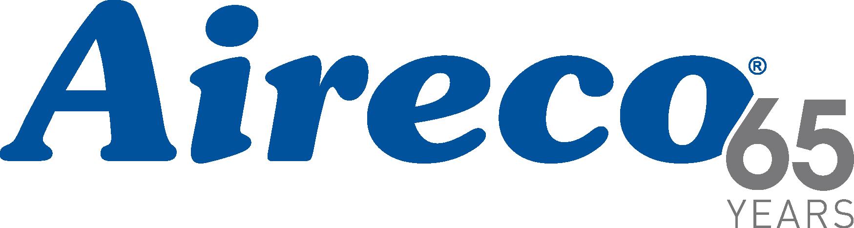 Aireco 65th Anniversary logo