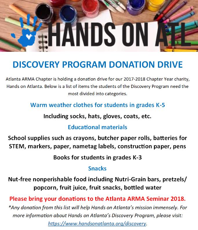 HOA Donation_Seminar