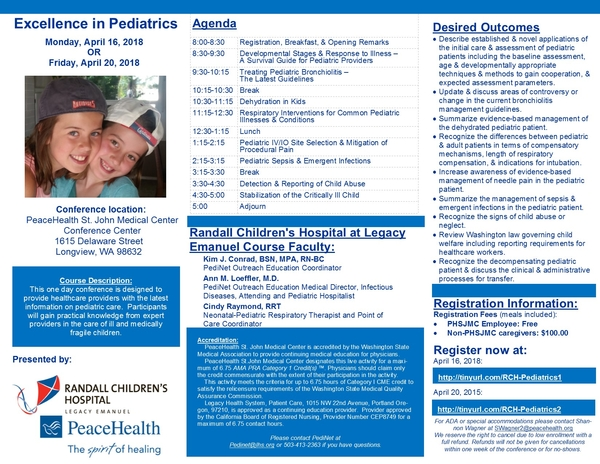 New 4.2018 St. John's Peds Conference brochure