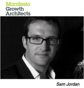 Sam Jordan, Manifest Growth