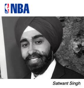 Satwant Singh, NBA
