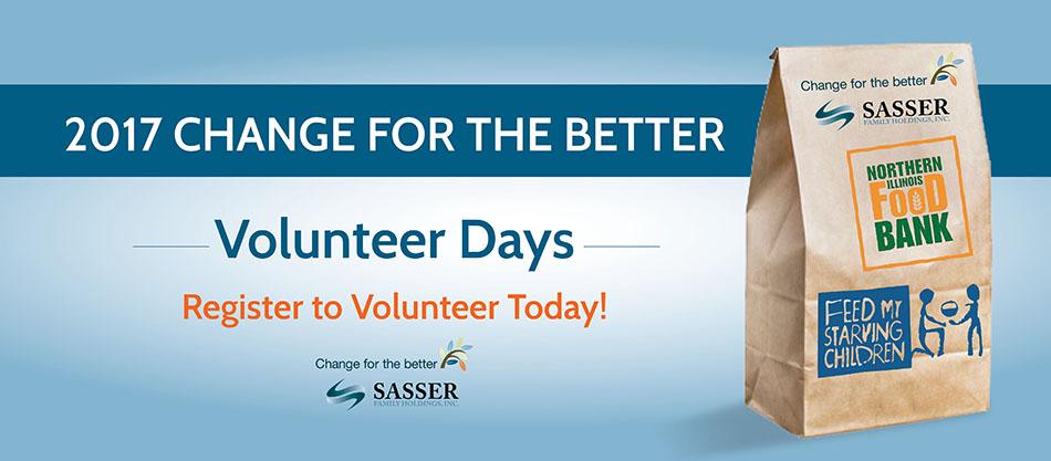 2017 Change for the Better Winter Volunteer Days