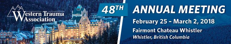 Western Trauma Association 2018 - 48th Annual Meeting