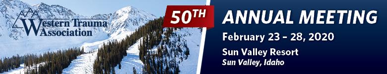 Western Trauma Association 2020 - 50th Annual Meeting