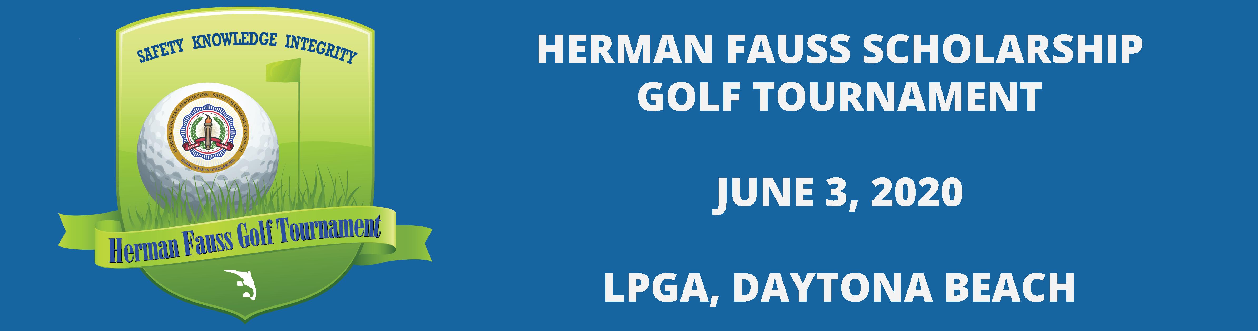 Herman Fauss Scholarship Fund Golf Tournament