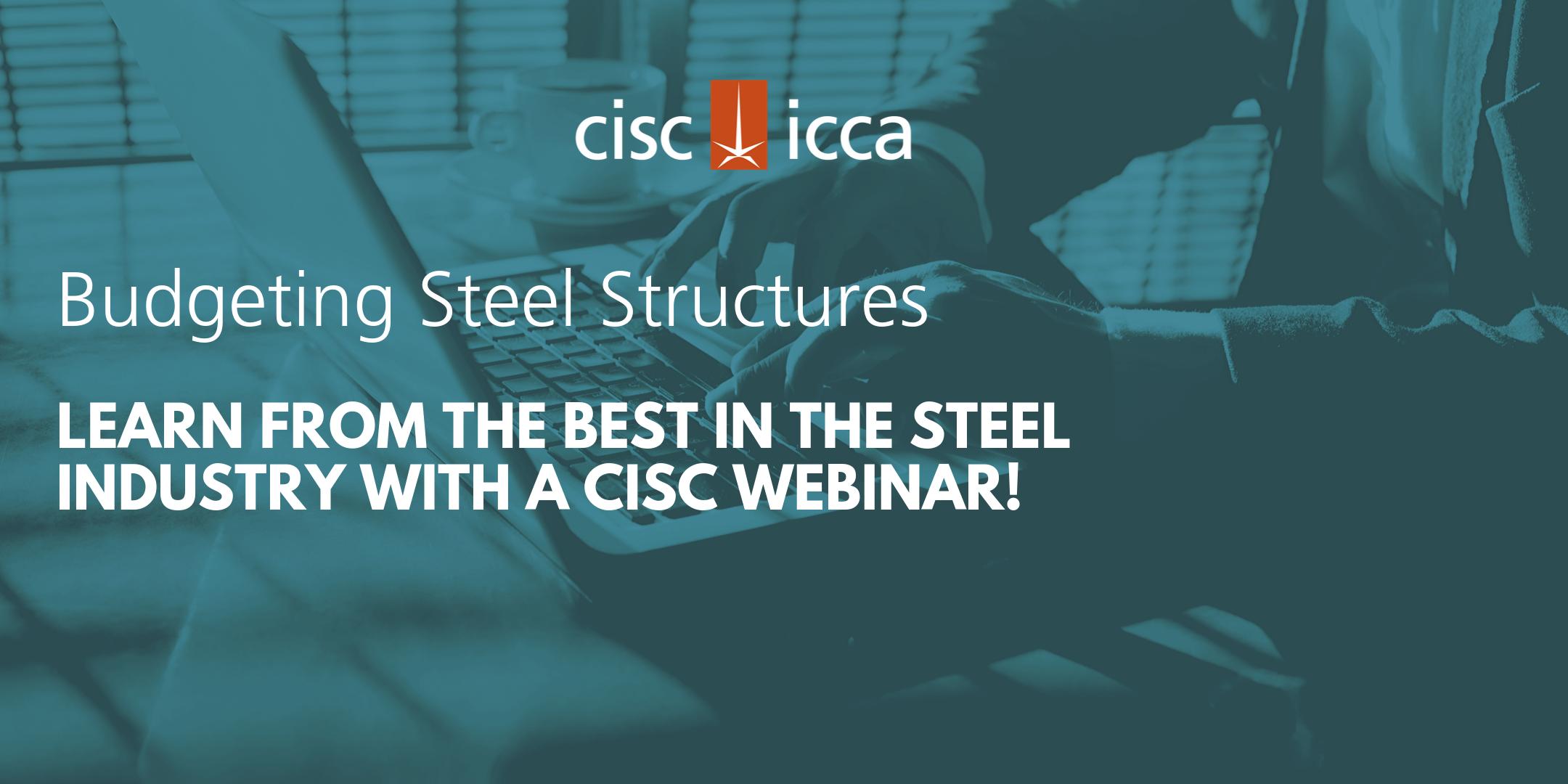 CISC Budgeting Steel Structures Webinar