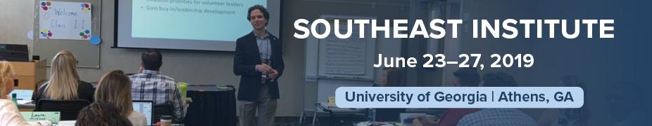 2019 Southeast Institute Registration