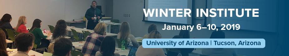 2019 Winter Institute Registration