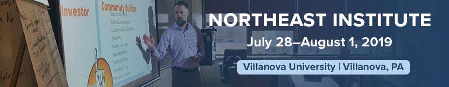 2019 Northeast Institute Registration
