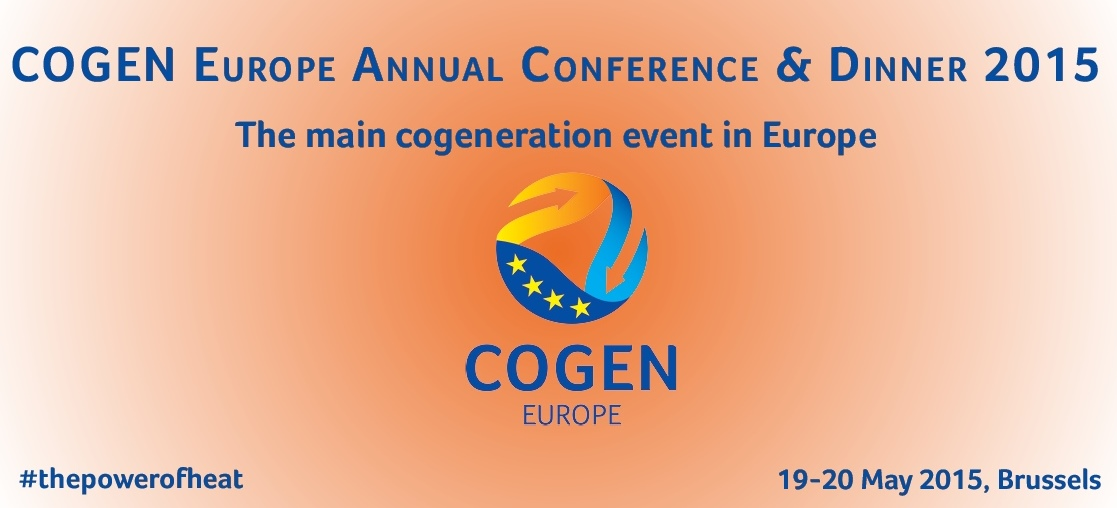 COGEN Europe Annual Conference 2015