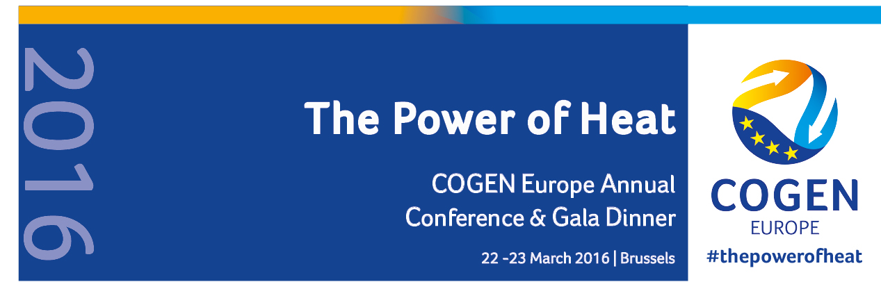 COGEN Europe Annual Conference 2016