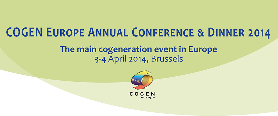 COGEN Europe Annual Conference & Gala Dinner 2014