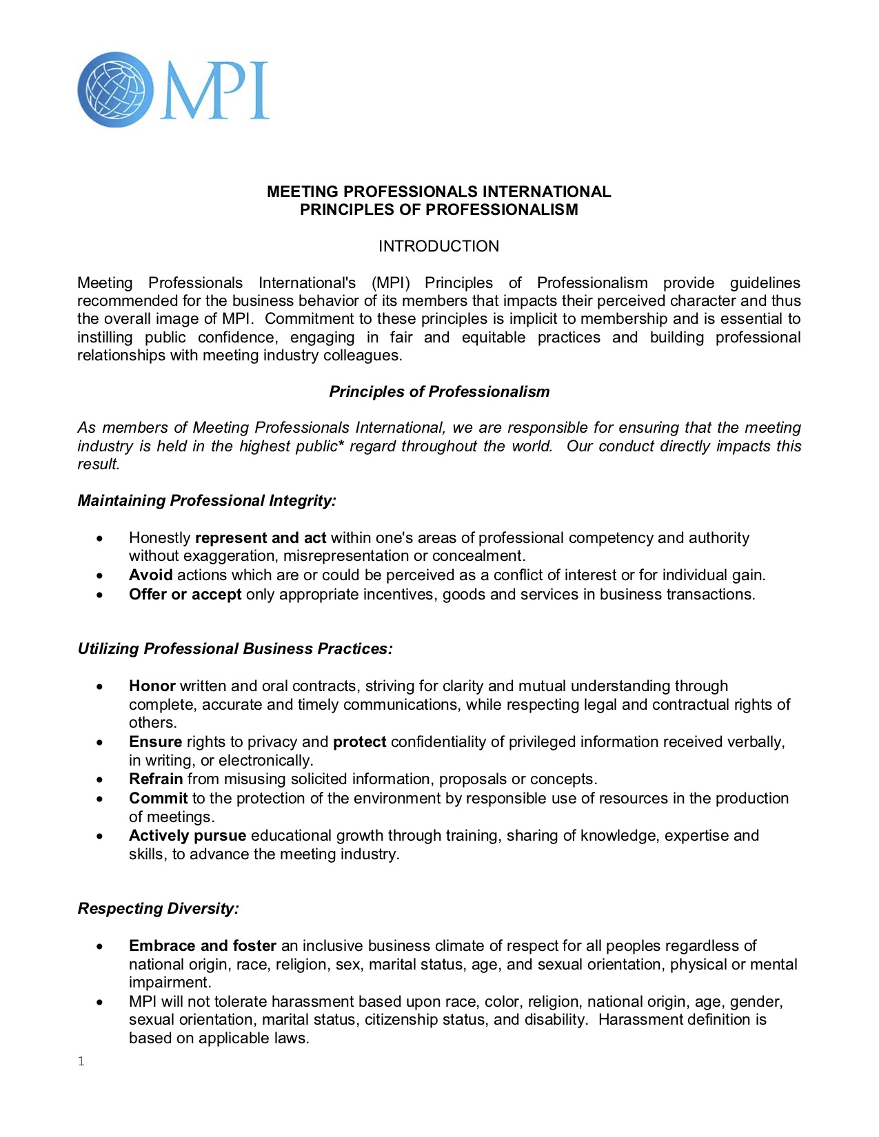 full pages principles-of-professionalism