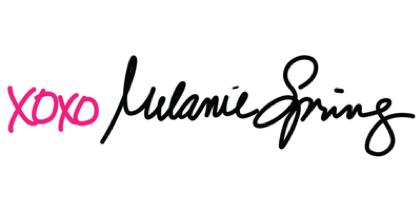 Melanie Spring signature