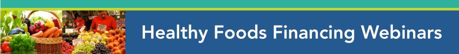 Nurturing Healthy Food Financing