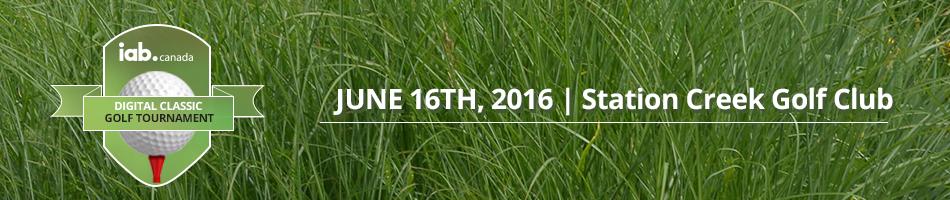 IAB Canada's 8th Annual Golf Tournament 2016