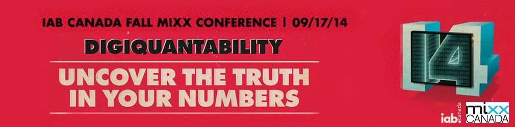 IAB Canada FALL MIXX 2014 Conference