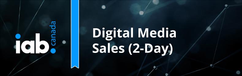 IAB Canada 2-Day Digital Media Sales Course 2020