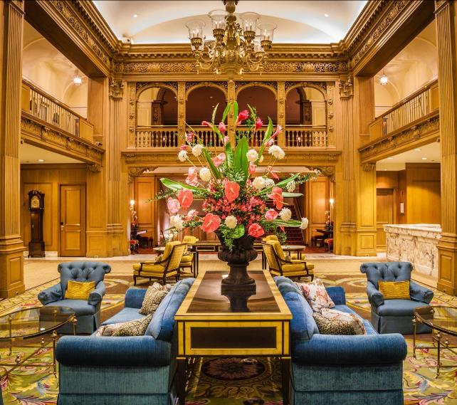 fairmont lobby