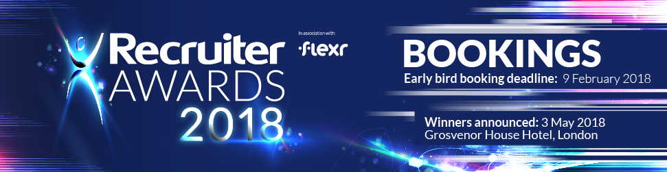 Recruiter Awards 2018 - Table Bookings