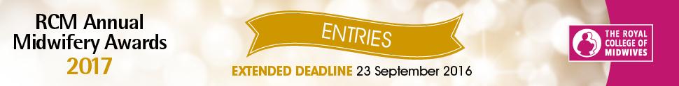 RCM Annual Midwifery Awards 2017 - Entries