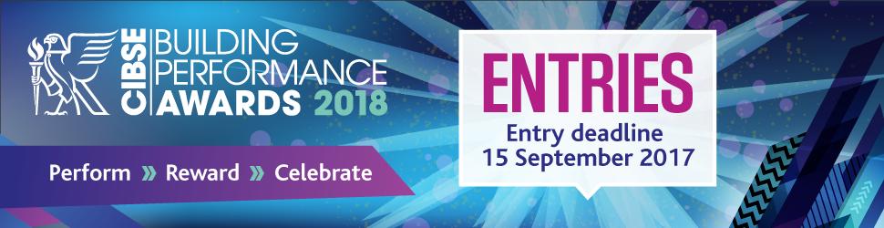 CIBSE Awards 2018 - Entries