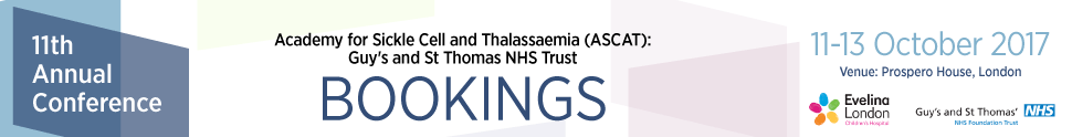11th Annual Sickle Cell Disease and Thalassaemia Conference (ASCAT) 2017