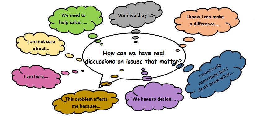 4-H Community Conversations Youth Citizen Open Forum Event