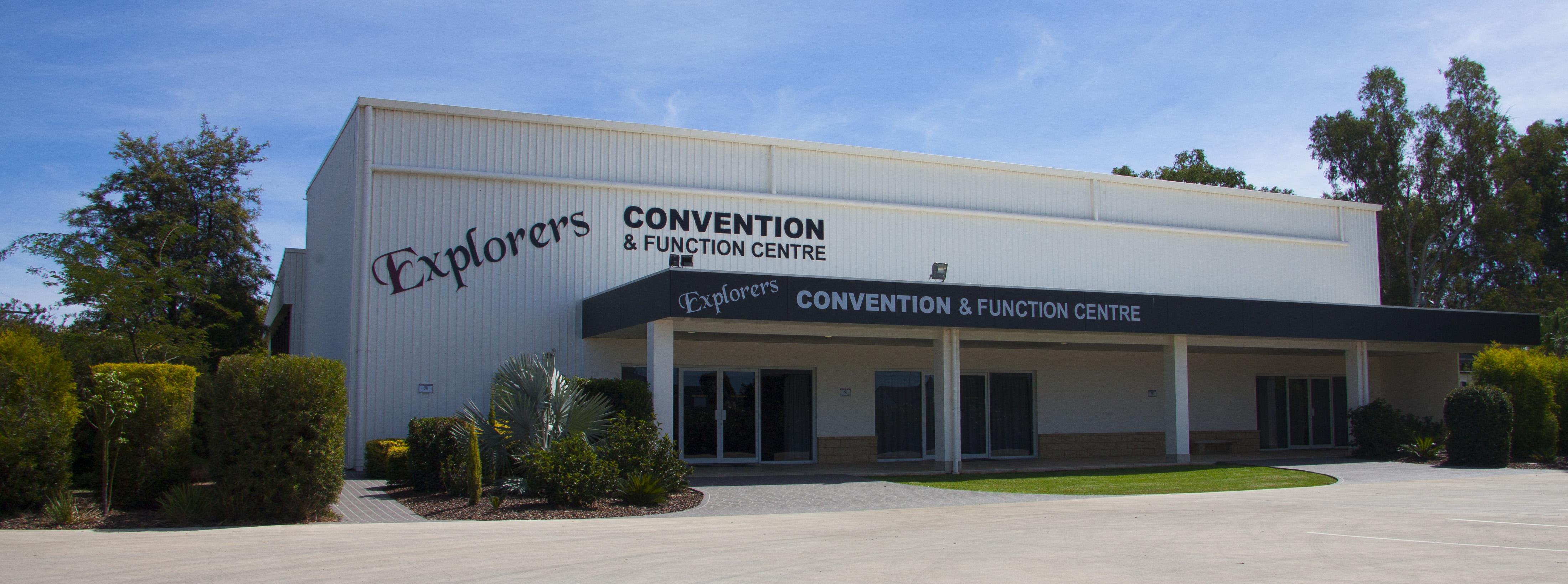 Explorers Convention Centre Hiro shot