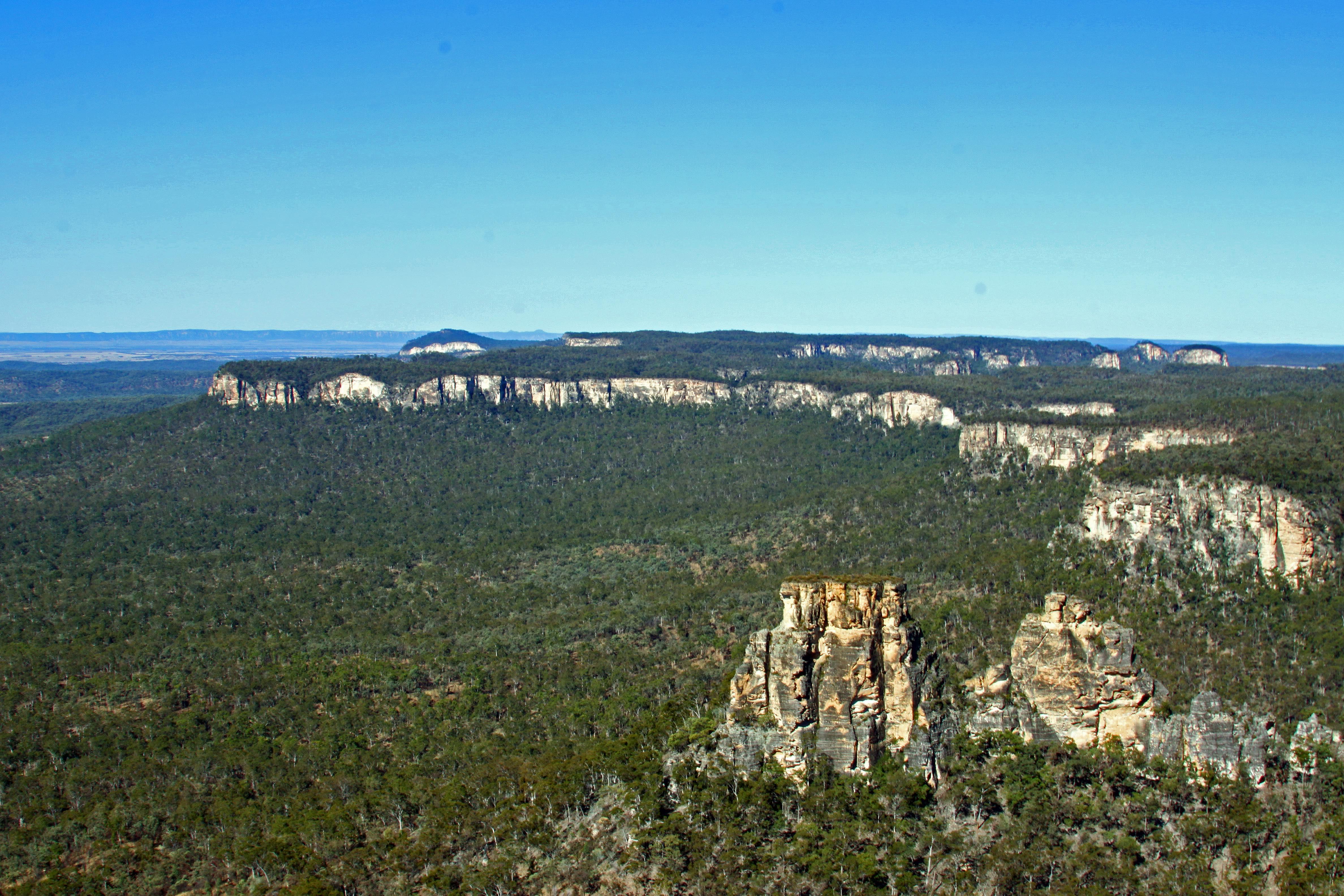 Carnarvon Ranges, Central Queensland Sandstone Bel