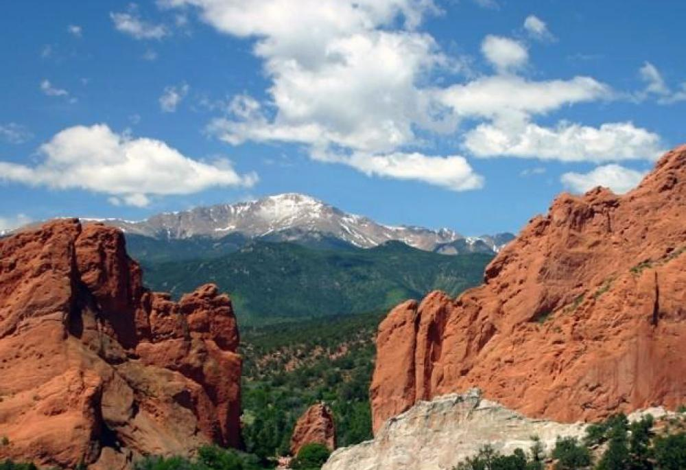 Pikes Peak and Garden of the Gods