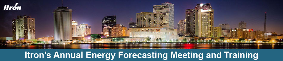 Itron's 18th Annual Energy Forecasting Meeting & Training - 2020