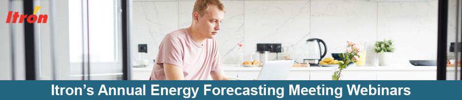Itron's 2020 Annual Forecasting Meeting Webinars