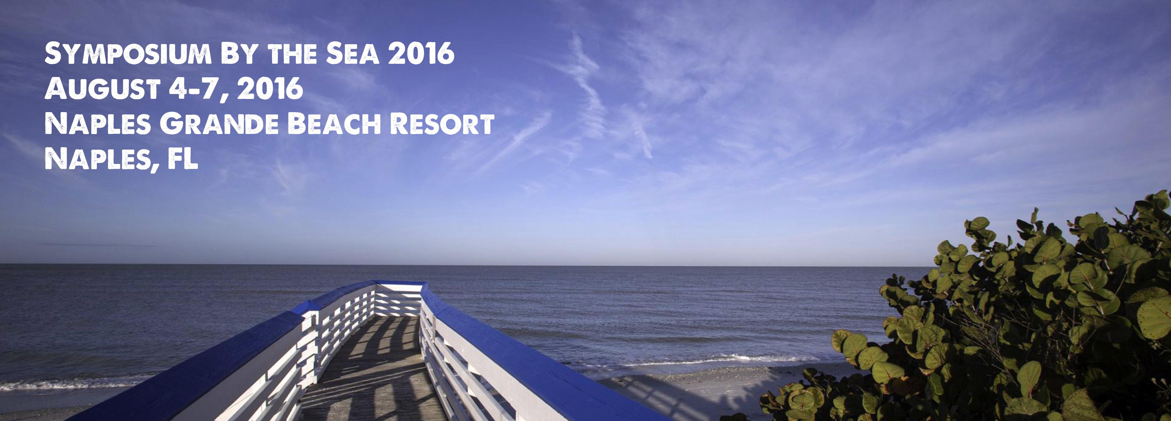 Symposium by the Sea 2016
