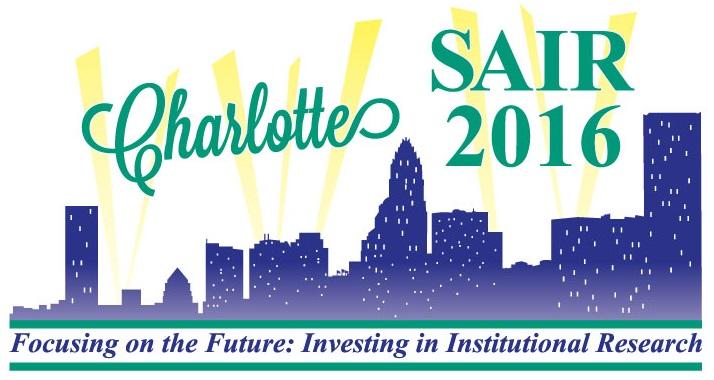SAIR 2016 - Charlotte theme cropped