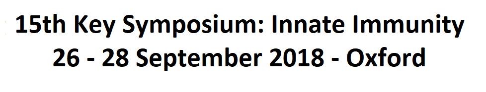Key Symposium on Innate Immunity