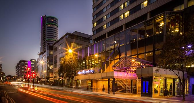 Hilton Leeds City Exterior