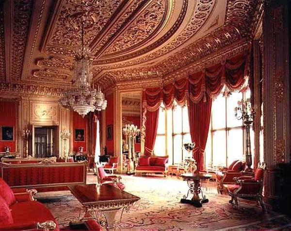 Windsor castle state room interior