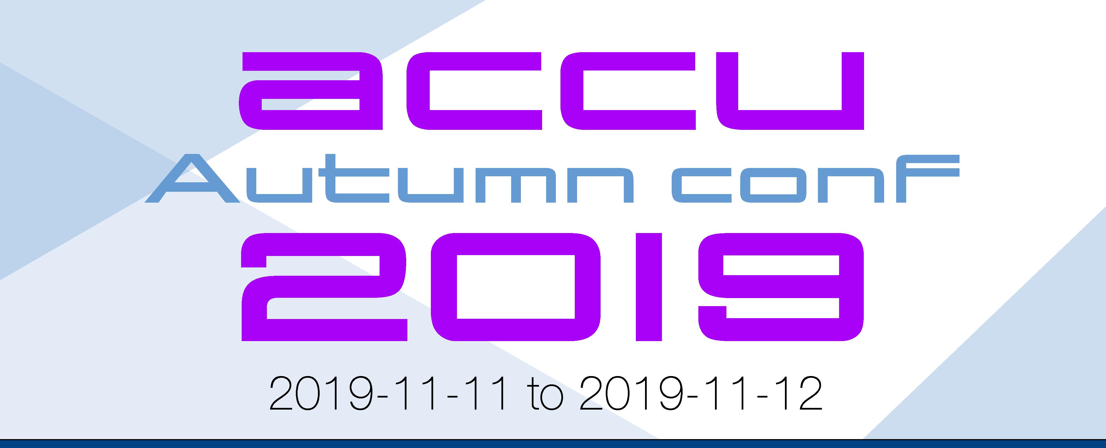 ACCU Autumn Conf 2019 & WG21
