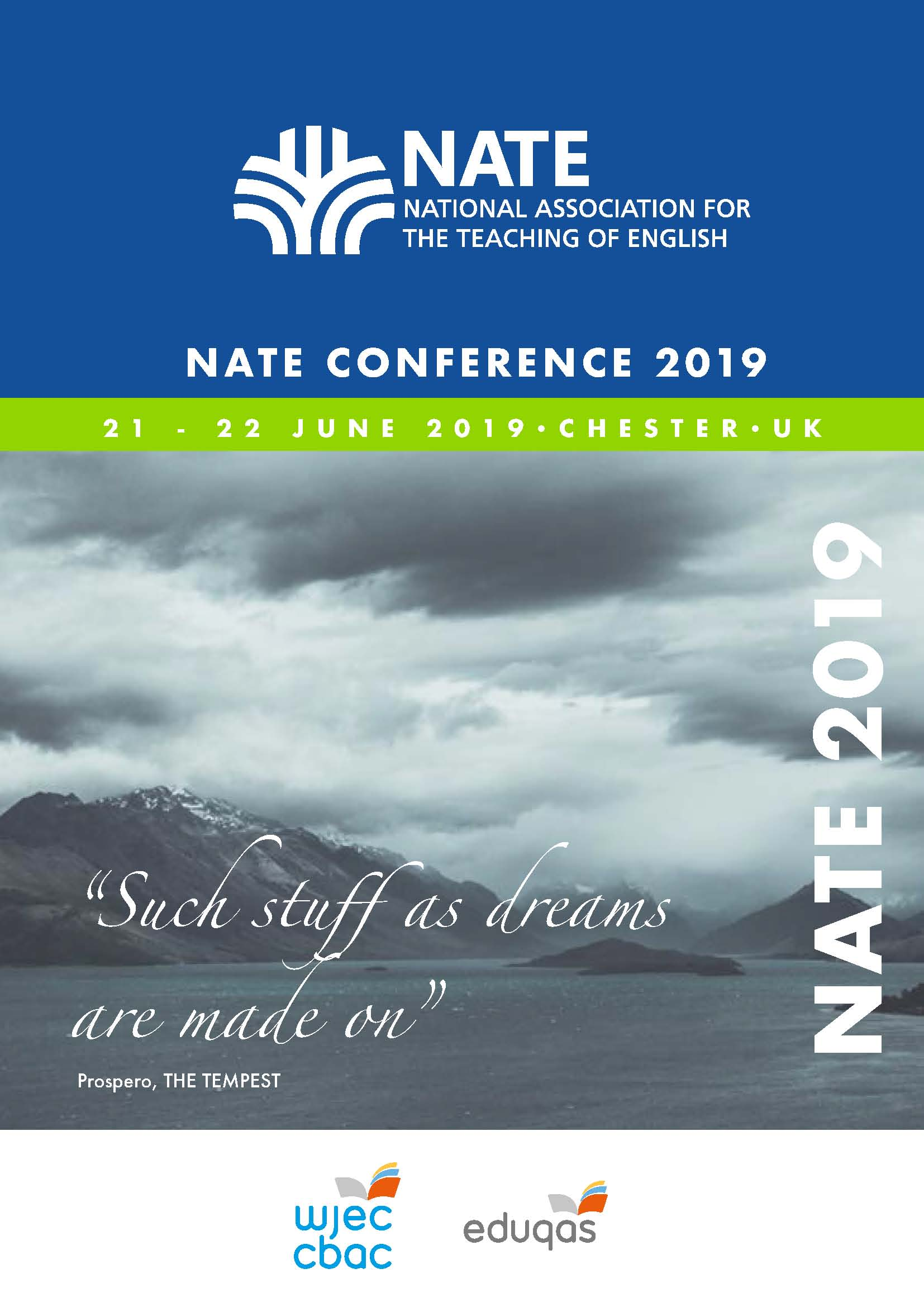 NATE Programme Cover Image
