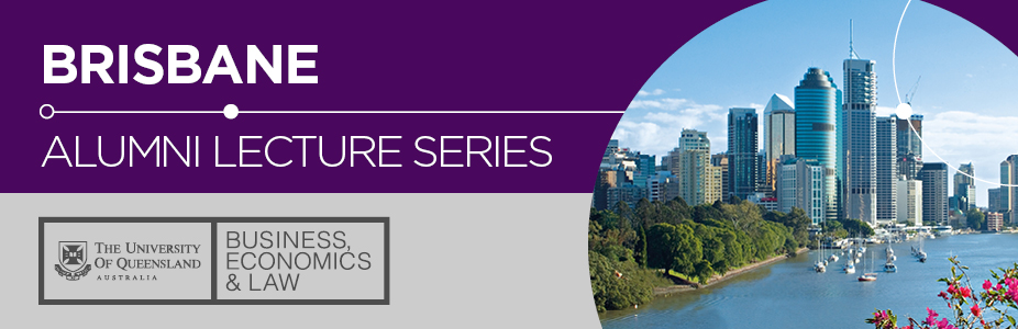 UQ Alumni Lecture with Terry Marsh